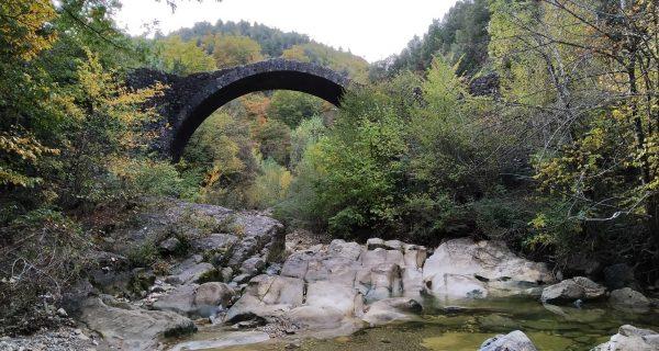 Trekking ponte della pia