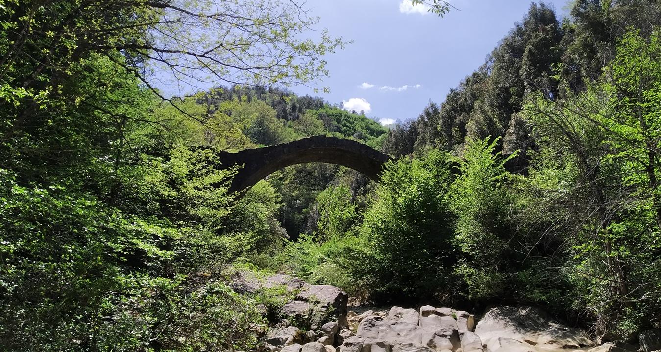 Ponte della Pia trekking